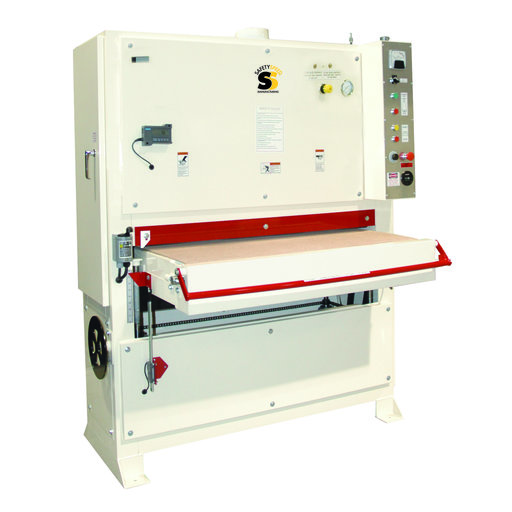 View a Larger Image of Safety Speed 4375 Wide Belt Sander, 20HP, 3 phase