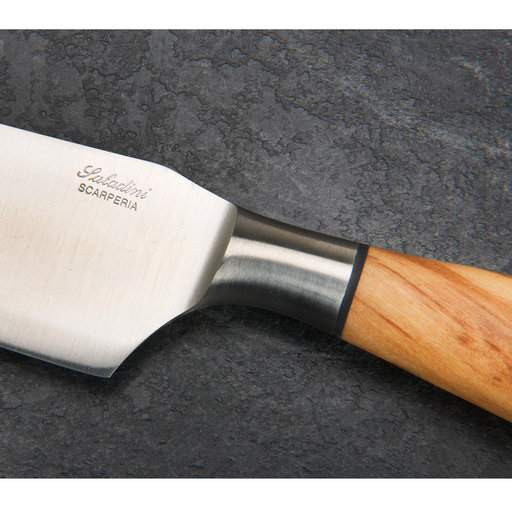 """View a Larger Image of Saladini Chef Knife 6.5"""" Olive Wood Handle"""