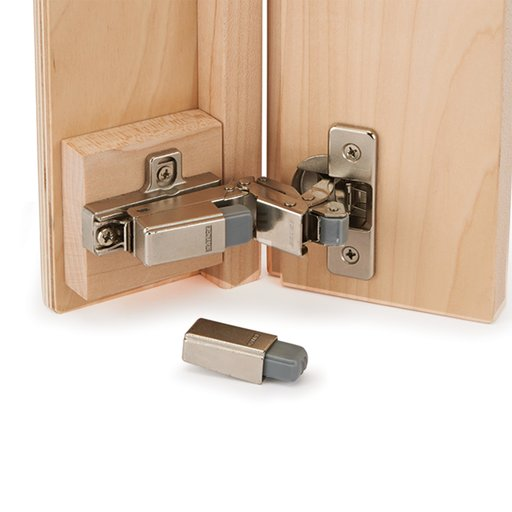"""View a Larger Image of Salice Smove Soft Close Adapter Model DB01SNG for 3/8"""" Lipped Door Hinge No. 159145"""