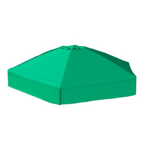 "84"" X 96"" X 37"" Telescoping Hexagon Sandbox Canopy & Cover"