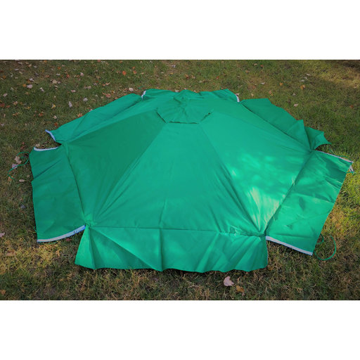 View a Larger Image of  Sandbox Canopy & Cover telescoping  Hexagon
