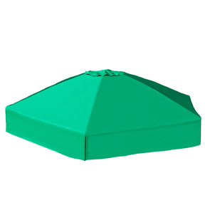 "7' x 8' x 13.5"" Hexagonal Collapsible Sandbox Cover"