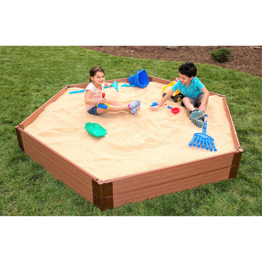 "View a Larger Image of Sandbox Kit-Collapsible Cover - 1"" profile Hexagon"