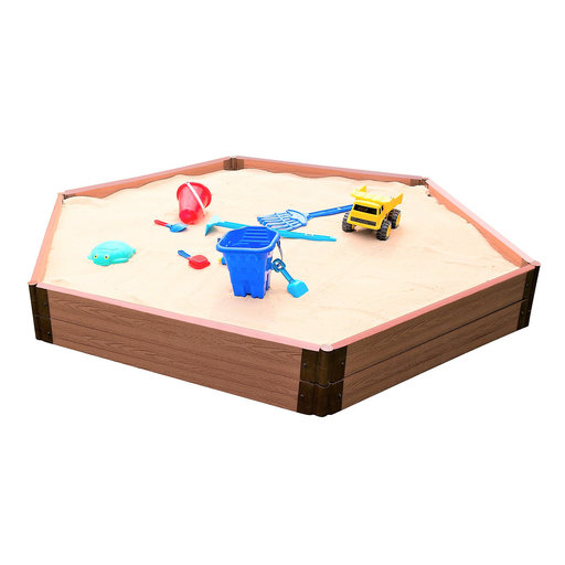"View a Larger Image of Sandbox Kit-Collapsible Cover - 2"" profile Hexagon"