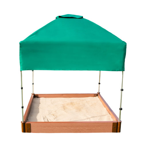 """View a Larger Image of Sandbox Kit-Telescoping Canopy/Cover - 2"""" profile"""