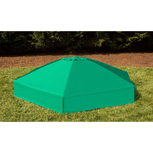 "View a Larger Image of Sandbox Kit-Telescoping Canopy/Cover - 2"" profile Hexagon"