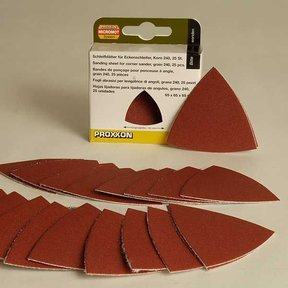 Sanding Pads for OZI 115/E, 280 grit, pack of 25