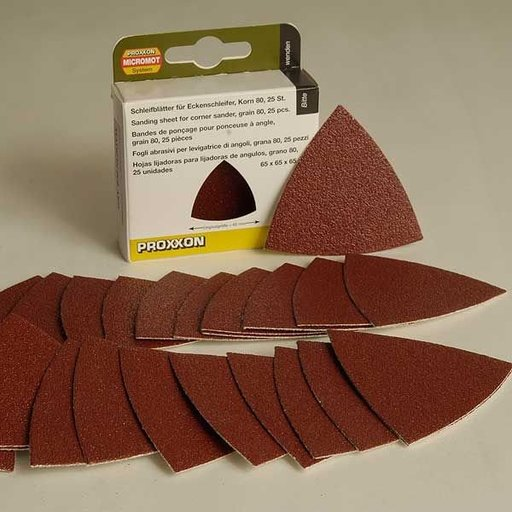 View a Larger Image of Sanding Pads for OZI 115/E, 80 grit, pack of 25