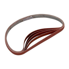 Sanding Stick Replacement Belts, 120 Grit, 5 pack