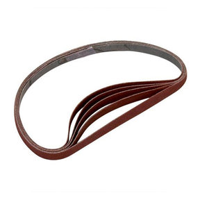 Sanding Stick Replacement Belts, 80 Grit, 5 pack