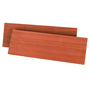 "Sapele, Ribbon 1/8"" x 3"" x 24"" Dimensioned Wood"