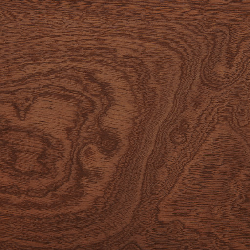 View a Larger Image of Sapele Veneer Sheet Pommele 4' x 8' 2-Ply Wood on Wood