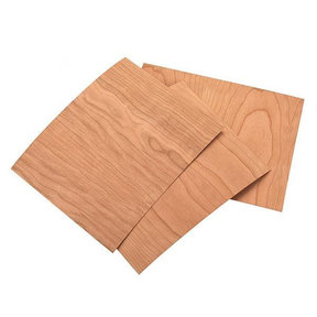 "Cherry Veneer 8-1/2"" x 11"" – 2-ply Wood on Wood, 3 pieces"