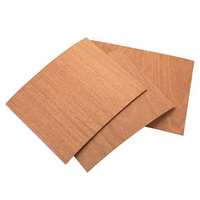 "Mahogany 8-1/2"" x 11"" 2ply 3 pc Pack Wood on Wood Veneer"
