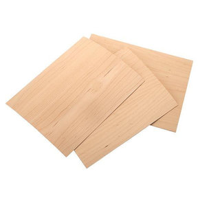 "Maple Veneer 8-1/2"" x 11"" – 2-ply Wood on Wood, 3 pieces"