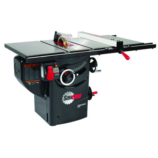 """View a Larger Image of 1-3/4HP 1PH 110V Professional Cabinet Saw with 30"""" Premium Fence System"""