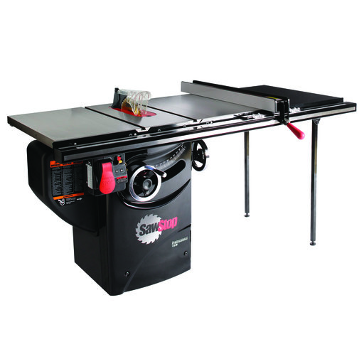 "View a Larger Image of 1-3/4HP 1PH 110V Professional Cabinet Saw with 36"" Professional T-Glide Fence System"