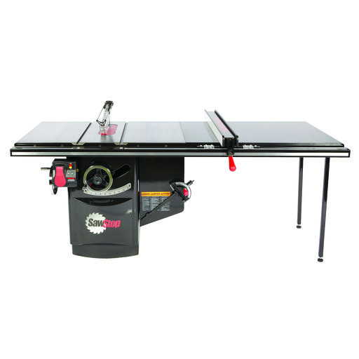 """View a Larger Image of 3 HP Industrial Cabinet Saw with 52"""" Industrial T-Glide Fence System, ICS31230-52"""