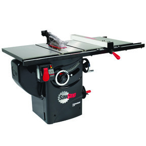 "3HP 1PH 230V Professional Cabinet Saw with 30"" Premium Fence System"