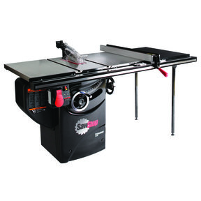 "3HP 1PH 230V Professional Cabinet Saw with 36"" Professional T-Glide Fence System"