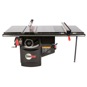 """5 HP, 600V, 3PH Industrial Cabinet Saw with 36"""" Industrial T-Glide Fence System, ICS53600-36"""