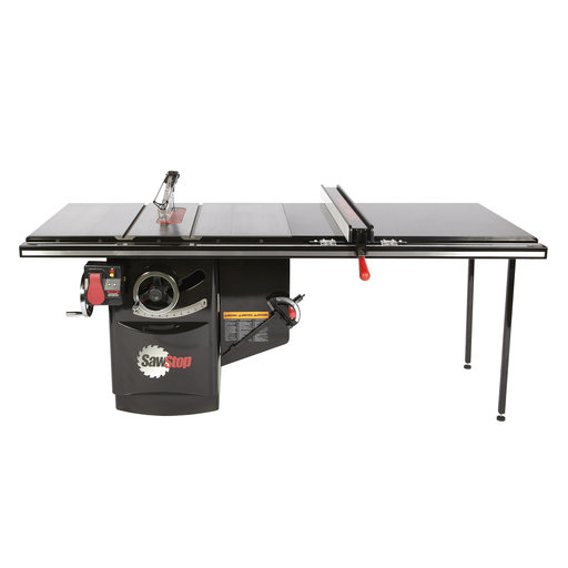 "View a Larger Image of 7.5 HP, 480V, 3PH Industrial Cabinet Saw with 52"" Industrial T-Glide Fence System, ICS73480-52"