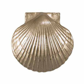 Scallop Door Knocker - Nickel Silver