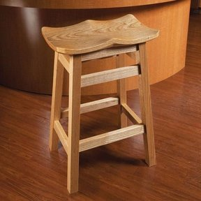 Scooped Seat Stool - Downloadable Plan