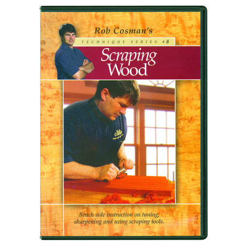 View a Larger Image of Scraping Wood with Rob Cosman DVD