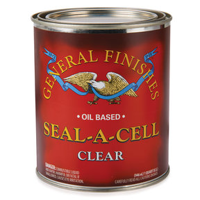 Seal A Cell Finish, Clear, Quart