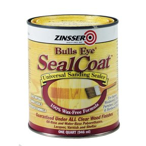 Gloss Sealer Bulls Eye Shellac Solvent Based Quart