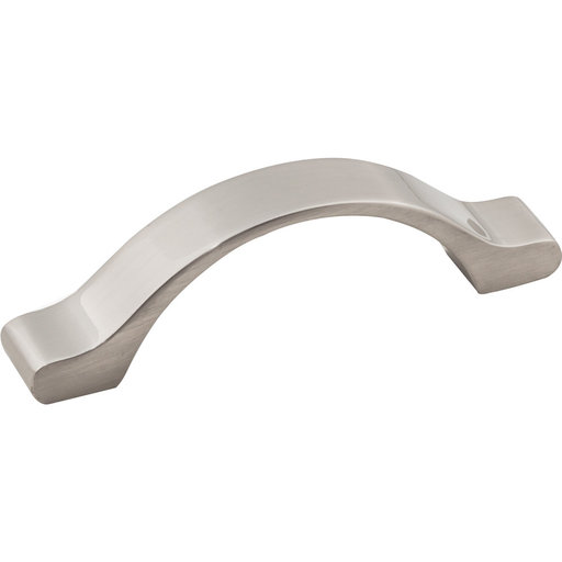 """View a Larger Image of Seaver Pull, 3"""" C/C, Satin Nickel"""