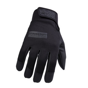 Second Skin Gloves Black Gloves  Large