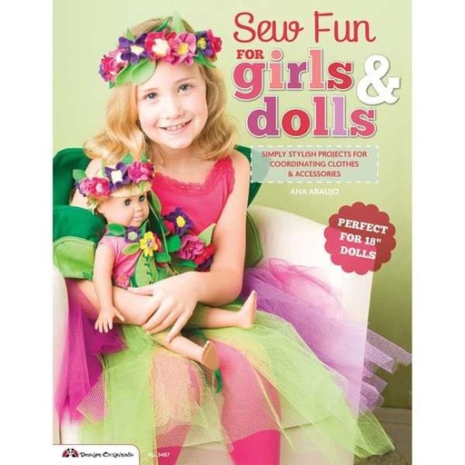View a Larger Image of Sew Fun for Girls & Dolls