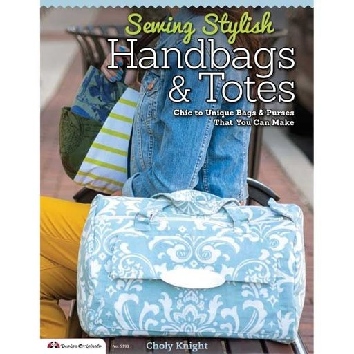 View a Larger Image of Sewing Stylish Handbags & Totes