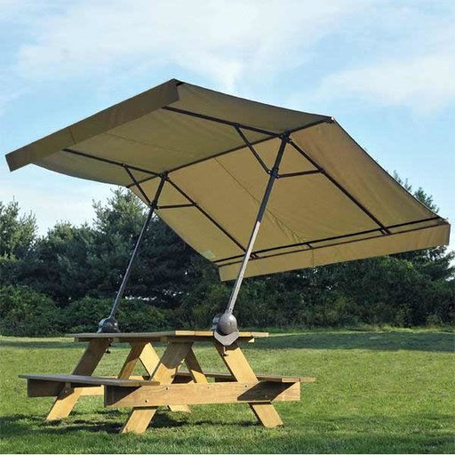 View a Larger Image of ShadeLogic Quick Clamp Canopy Tilt Mount 10 ft. / 3 m