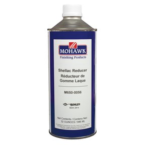 Solvent Shellac Reducer Quart