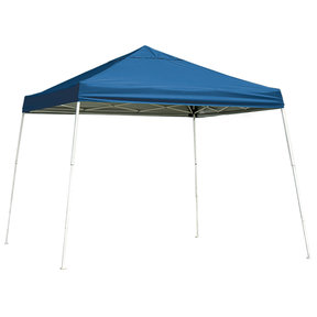 10 ft. x 10 ft. Sport Pop-up Canopy Slant Leg, Blue Cover