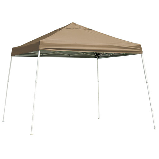 View a Larger Image of 10 ft. x 10 ft. Sport Pop-up Canopy Slant Leg, Desert Bronze Cover