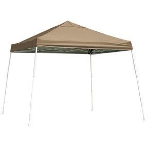 10 ft. x 10 ft. Sport Pop-up Canopy Slant Leg, Desert Bronze Cover