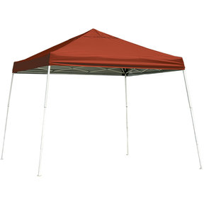 10 ft. x 10 ft. Sport Pop-up Canopy Slant Leg, Red Cover
