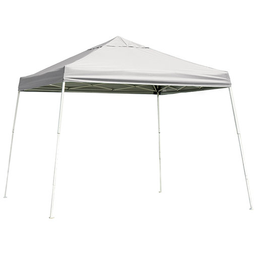 View a Larger Image of 10 ft. x 10 ft. Sport Pop-up Canopy Slant Leg, White Cover