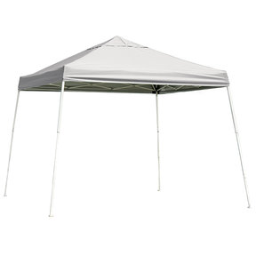 10 ft. x 10 ft. Sport Pop-up Canopy Slant Leg, White Cover