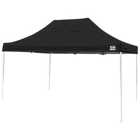 10 ft. x 15 ft. Pro Pop-up Canopy Straight Leg, Black Cover