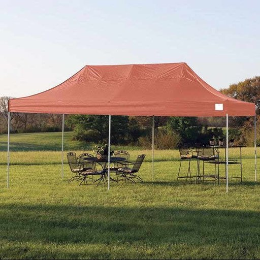 View a Larger Image of 10 ft. x 20 ft. Pro Pop-up Canopy Straight Leg, Desert Bronze Cover