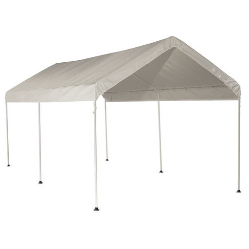 View a Larger Image of 10' x 20' Canopy, 3-Rib Frame, White