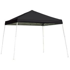 12 ft. x 12 ft. Sport Pop-up Canopy Slant Leg, Black Cover