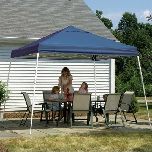View a Larger Image of 12 ft. x 12 ft. Sport Pop-up Canopy Slant Leg, Blue Cover