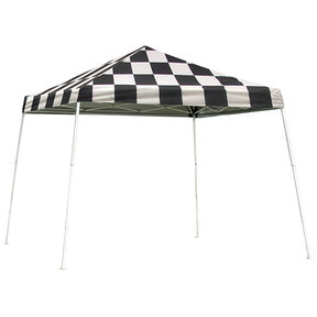 12 ft. x 12 ft. Sport Pop-up Canopy Slant Leg,Checker Flag Cover