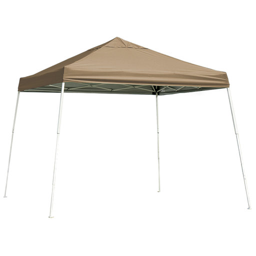 View a Larger Image of 12 ft. x 12 ft. Sport Pop-up Canopy Slant Leg, Desert Bronze Cover
